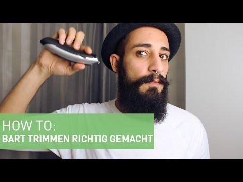 BART TRIMMEN/STUTZEN - So geht's | How-To by BARTMANN