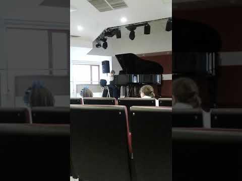 """Зачёт """"Утренняя молитва"""" П.И.Чайковский,аллегретто Гумель"""