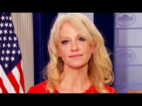 Kellyanne Conway Descends Into a Hopeless, Makeup-Smeared Mess Defending Michael Flynn's Resignation