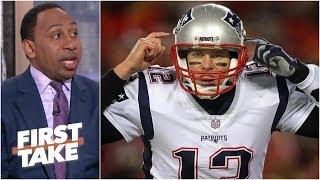 Tom Brady 'ain't going no damn place' – Stephen A. | First Take