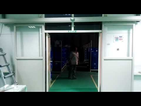 Automatic Sliding Glass Sensor Door