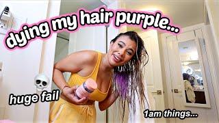 the worst hair fail of life... i'm ruining my hair lmao
