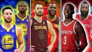 Ranking The Best DUOS From ALL 30 NBA Teams 2017 18