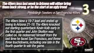 Top 5 Decisive Factors Pittsburgh Steelers vs San Francisco 49ers