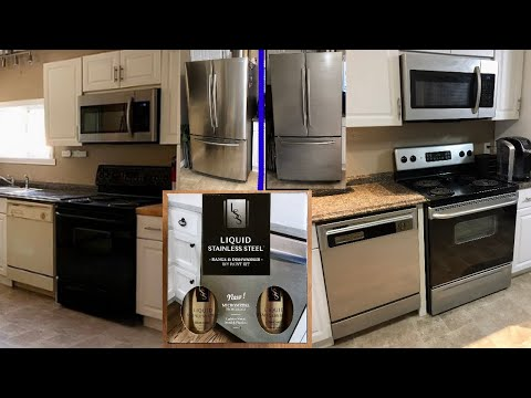 Liquid Stainless Steel (Paint Appliances Stainless Steel!)