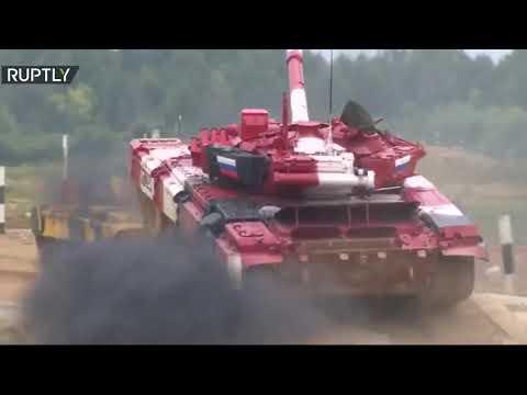 العرب اليوم - شاهد: الروس يحطمون الأرقام القياسية في نهائي الألعاب العسكرية الدولية