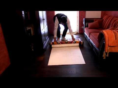Teppichunterlagen richtig verlegen und auswählen