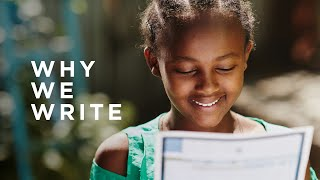 What to Write To Your Sponsored Child | Compassion Australia