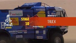 Dakar 2020 - Stage 10 (Haradh / Shubaytah) - Truck Summary
