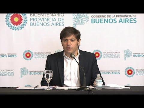 Kicillof presentó seis medidas de impulso para comercios, pymes y agroindustrias