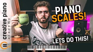 PIANO SCALES: The ULTIMATE Step-By-Step Guide For Beginners