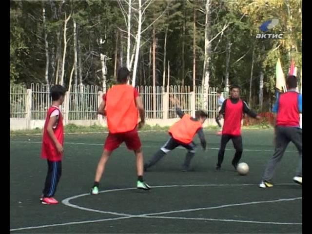 Юные ангарчане предпочитают футбол