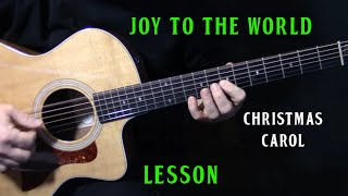 "how to play ""Joy To the World"" on guitar inspired by Bruce Cockburn 