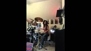 Krokus Our Love Will Never Die ~ Drum Cover by Denise