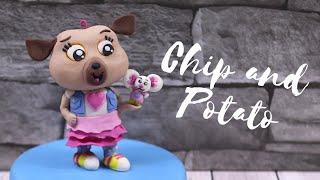 Chip & Potato Cake Topper