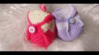 (My Craft)  Crochet Mini Bag - كروشيه شنطة صغيرة - محفظة