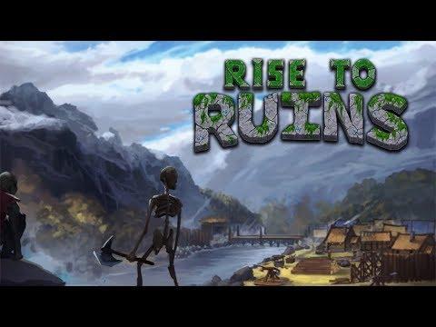 RISE TO RUINS Gameplay Español - Dwarf Fortress + Rim World