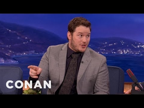 Chris Pratt podruhé u Conana O'Briena