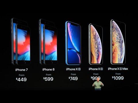 Презентация Apple 2018 iPhone XS iPhoneXS Max iPhone XR Apple Watch Series 4 онлайн видео