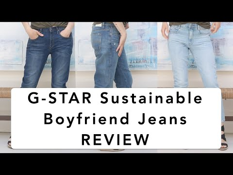 G-Star Boyfriend Jeans Review: Women's Fashion