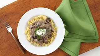 Slow Cooker Beef Stroganoff – Everyday Food with Sarah Carey
