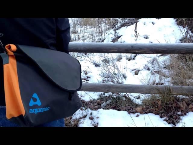 Видео Чехол для фотоаппарата Aquapac SMALL STORMPROOF CAMERA POUCH