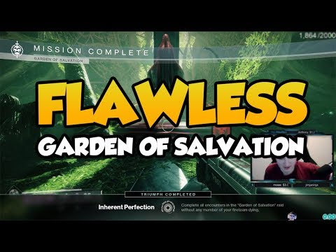Flawless Garden of Salvation Raid - No Switches Required [Destiny 2 Shadowkeep]
