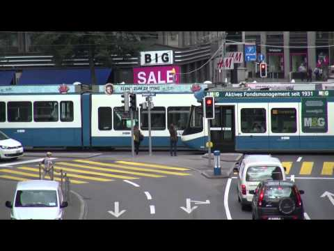 Zurich's Policies Favor People & Transit, Not Cars