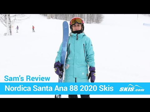 Video: Nordica Santa Anna 88 Skis 2020 17 40