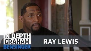 Ray Lewis: Absent dad fueled anger, hunger