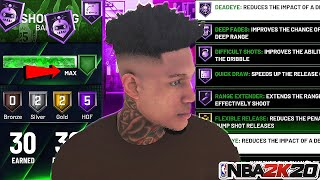 *NEW* NBA 2K20 MAX BADGE GLITCH!MAX OUT ALL BADGES IN ONE WEEK!AFTER PATCH 1.14!PS4 XB1