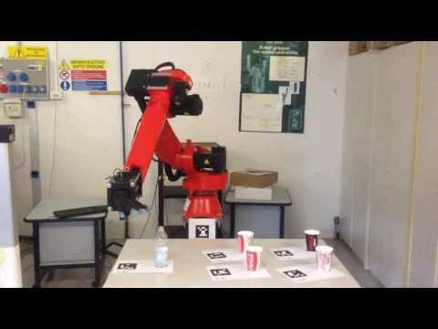 Industrial Robot Manipulation based on AR Marker detection
