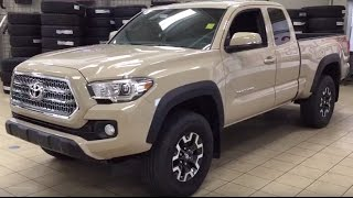 2017 Toyota Tacoma Access Cab TRD Off-Road Manual Review