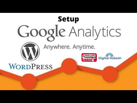 How To setup Google Analytics On Wordpress website