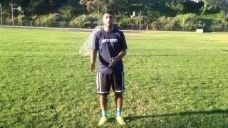 Soccer demonstration for starters