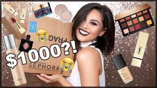 $1000 SEPHORA VIB SALE HAUL 2017 | Roxette Arisa