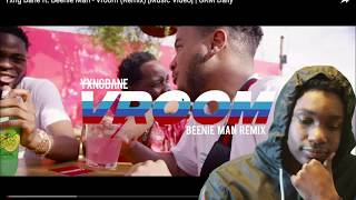 AMERICAN REACTS TO Yxng Bane Ft. Beenie Man   Vroom (Remix) [Music Video] | GRM Daily