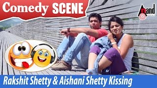 Vaastu Prakaara | Rakshit Shetty & Aishani Shetty - Kissing Comedy  Scenes