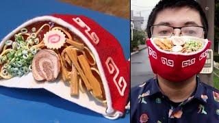 Introducing the Ramen Noodle Face Mask