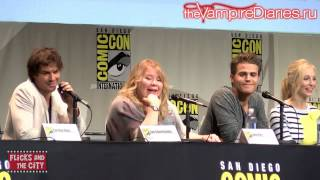 Иэн Сомерхолдер, The Vampire Diaries Comic Con Panel 2015 [Русские субтитры]