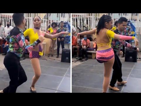 רקדנית הסלסה הזו מתגברת על המגבלה שלה בשיא הטבעיות וכובשת את הלב!