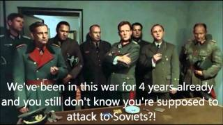 Hitler's voice problem