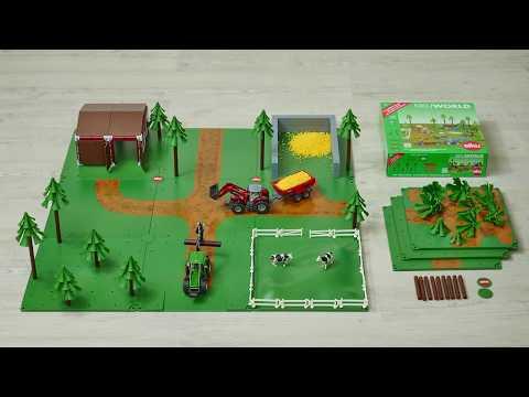 Набор Siku World Фермерский набор с аксессуарами
