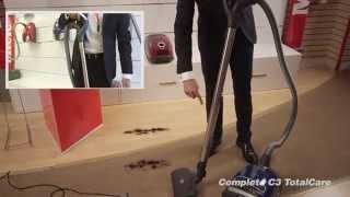 Miele C3 Complete TotalCare Vacuum Demo