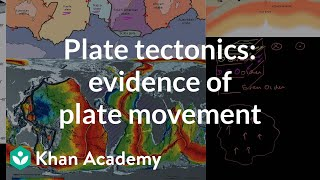 Plate Tectonics -- Evidence of plate movement