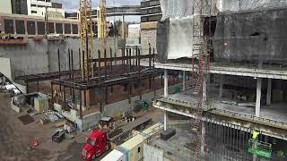 Watch the video - Vision Northland: Construction Time Lapse, Oct 2020 - Essentia Health