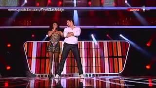 Aleksandra Dabić - Dodirni Mi Kolena - Live - Prvi Glas Srbije 2011 - Prva Tv