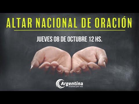 54. Altar Nacional de Oración | Jueves 08/10