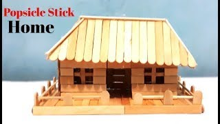 Cara Membuat Rumah Sederhana Dari Stik Es Krim 123vid