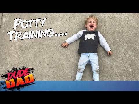 Dad's advice on Potty Training | Dude Dad